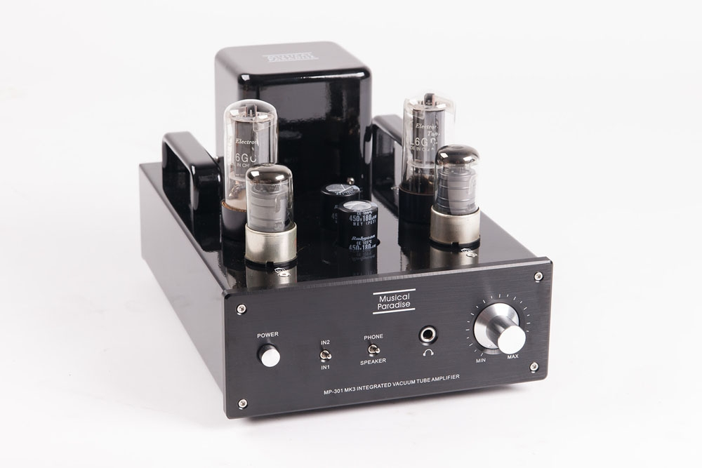 MP-301 MK3 Mini Tube Amplifier with Headphone Output ...