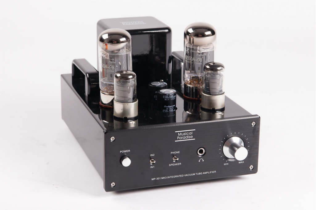 MP-301 MK3 Mini Tube Amplifier with Headphone Output (2018 ...
